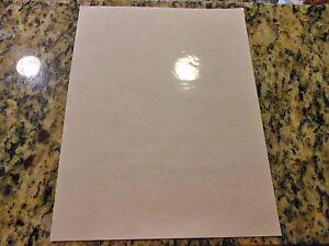 Combo - Inkjet printable CLEAR vinyl/3M laminate - 10 sheets (8.5in x 11in)
