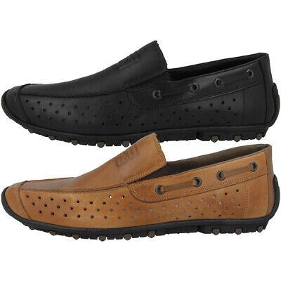 Fedele Rieker Scarpe Da Uomo Tempo Libero Scarpe Basse Antistress Slipper Loafer 08969- Materiali Di Alta Qualità Al 100%