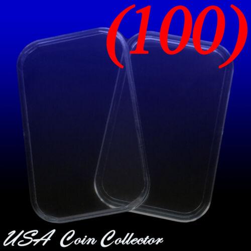 1 Oz 100 29mm X 50mm - Genuine Bulk Silver Bar Direct Fit Air-Tite Capsule