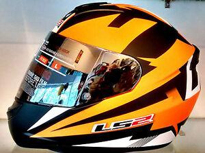 LS2 Helmets - FF352 - Dyno Black Orange - Full Face Imported Motorcycle Helmet