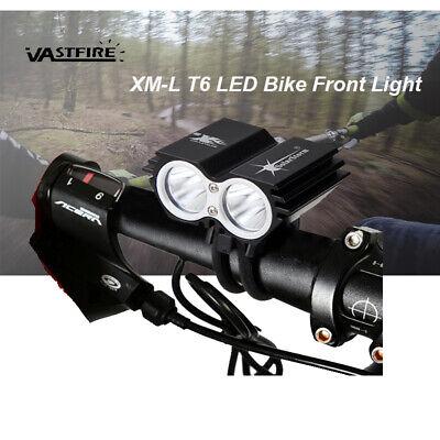 SolarStorm 8000LM 2x T6 LED Front Head Bicycle Light Bike Headlamp Flashlight CC