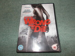 Details about Region 2 DVD Monika A WRONG WAY TO DIE Jason Wiles & Cerina  Vincent