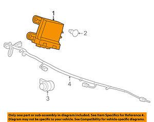 GM Parking Backup Back Up Reverse Distance-Sensor OEM # 23428268