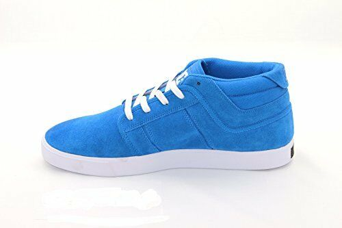 DC Chaussures RD Grand Mid, Daim bleu-Taille UK 6