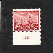 Nazi Germany Poland General Government MNH Lublin 24g Year Date 1942 Selvage  A