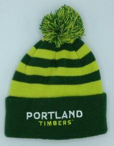 d584bc122bd Image is loading MLS-Portland-Timbers-Cuffed-Pom-Winter-Knit-Hat-