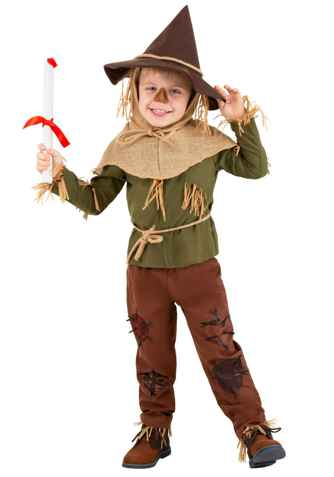 Wizard of Oz Scarecrow Toddler Costume 4T