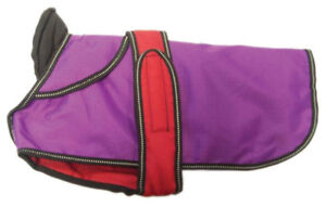 """2 In 1 Purple Dog Coat 40 Cm (16"""")-afficher Le Titre D'origine"""