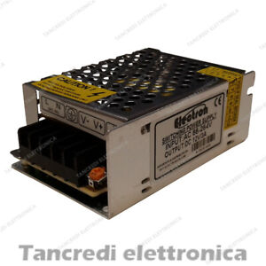 ALIMENTATORE-SWITCHING-INDUSTRIALE-12V-35W-3A-STRISCIA-LED-POWER-SUPPLY