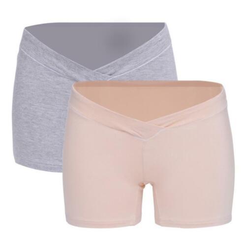 2 x Sous-vêtement Maternité Femme Culotte String Grossesse  Shorts