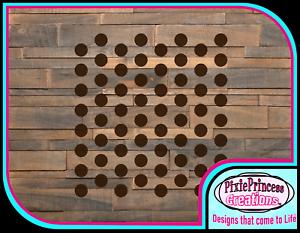 Motif S Mylar 190 Pochoir Réutilisable Airbrush Spray Paint mur Craft mobilier