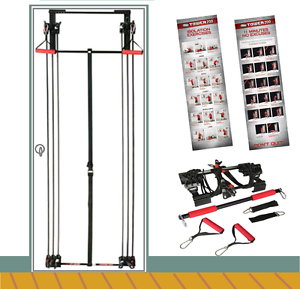 Tower-200-Body-By-Jake-Full-Gym-Fitness-Workout-DVD-Free-Straight-Bar-New