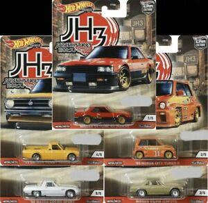 HOTWHEELS-PRE-ORDER-2020-JAPAN-HISTORICS-3-FULL-SET-OF-5-ALLOYS-RUBBER-TYRES