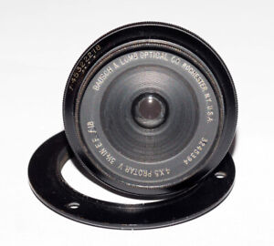 Bausch & Lomb 4x5 Wide Angle Protar Series V FREE SHIPPING!
