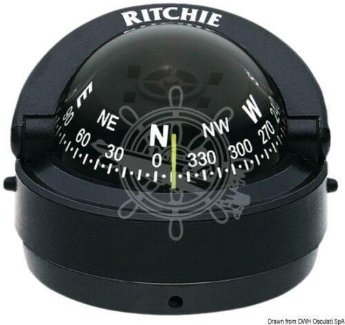 Bussola Ritchie Explorer 23//4 esterna nera//nera