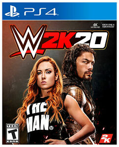 PLAYSTATION-4-WWE-2K20-BRAND-NEW-SEALED-PS4-GAME-W2K20-2020-WRESTLING