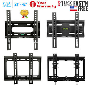 Fixed Or Tilt swivel Full Motion TV Wall Mount Bracket 23 24 26 27 32 37 40 42