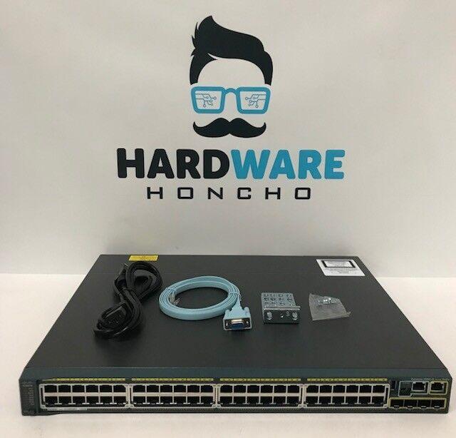 Cisco Catalyst WS-C2960S-48FPS-L 2960S 48-Port Managed Gigabit PoE+ Switch