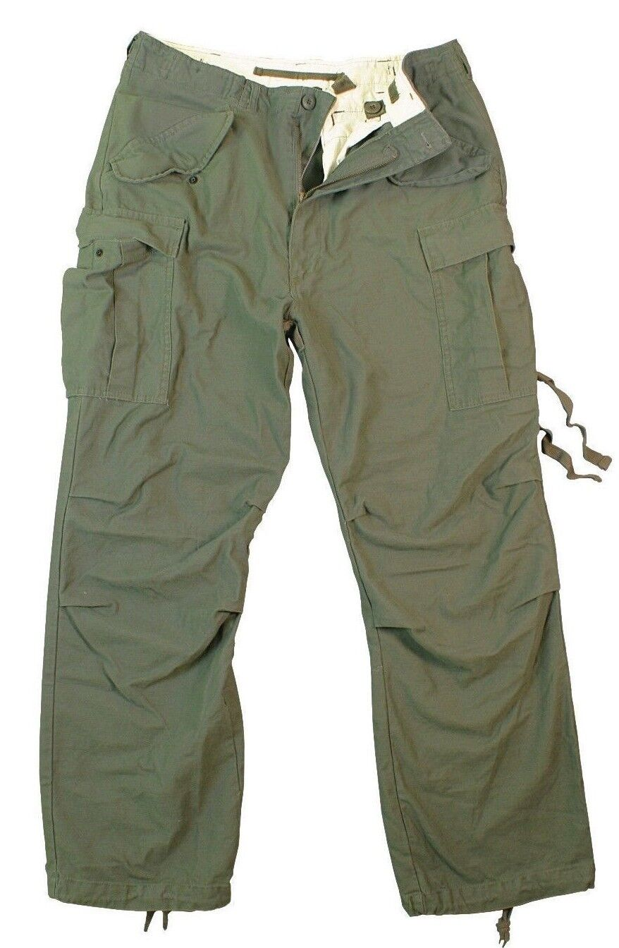 Military Style M65 Field Pants Cargo Pants Mens Fatigues redhco 2601
