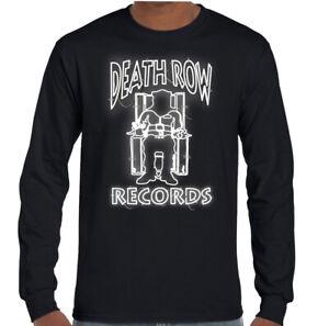 DEATH-ROW-RECORDS-T-SHIRT-Mens-NWA-Tupac-2Pac-Shakur-Snoop-Dogg-Dr-Dre-Hip-Hop