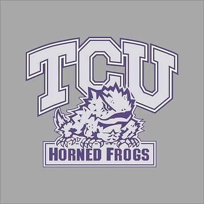 Tcu Horned Frogs Ncaa College Vinyl Decal Sticker Car