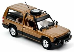 TALBOT - MATRA Rancho - 1982 - cannelle bronze - Norev 1:43