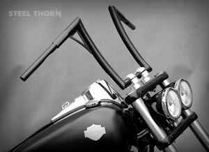 """14"""" handlebar Harley custom bobber sportster softail XV XVS VN VS VTLS 1-1/4"""" - Zabkowice Slaskie, Polska - Zwroty są przyjmowane - Zabkowice Slaskie, Polska"""