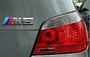BMW M5 argent Emblème Autocollant meilleure qualité UK Stock