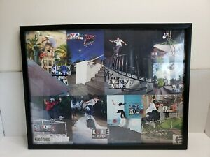 Etnies-Pro-Skate-Team-Skateboarders-Riders-Poster-Autographed-Signed