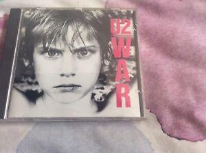 U2 War CD Pink Lettering West German Pressing