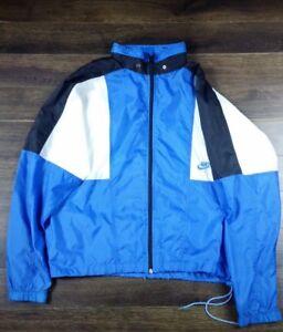 5e57fd9860 Image is loading New-Vintage-Men-039-s-Nike-Windbreaker-Jacket-