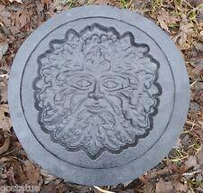 gostatue recessed greenman plaque plastic mold concrete mold plaster mould