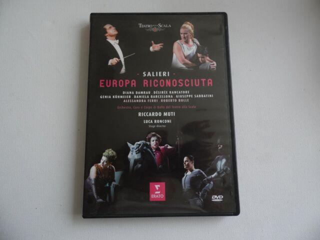 Salieri - Europa Riconosciuta - DVD.