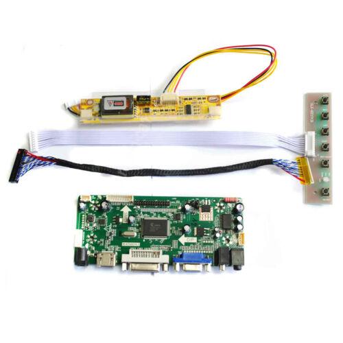 HDMI VGA DVI Audio Lcd Driver Controller Board For LTN184HT01-A01 LTN184HT03-001