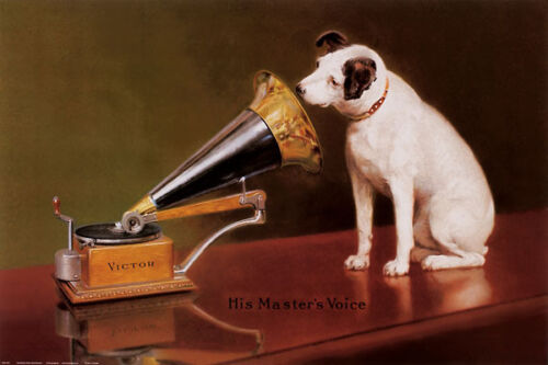 His Master/'s Voice Dogs Vintage Print Posters