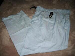 Lounge Pants~Size Large~MSRP $30~NWT Apt 9 Men/'s Dark Green//White Plaid Sleep