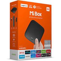 Xiaomi Mi Box 4K HDR 2016 Android TV 8GB Media Streamer - Chromecast built-in -