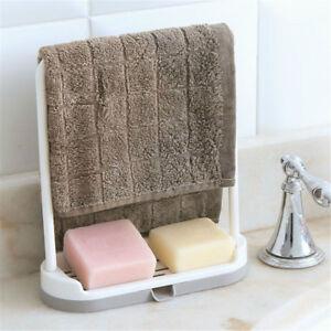 Sponge-holder-for-kitchen-sink-organizer-towel-rack-stand-hanging-dr-Yd