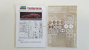 Ferrari Testarossa Pocher AMG Detail Set 2005 - 002 in 1/8 scale