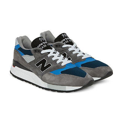 sports shoes ef7b6 bb605 New Balance 998 Made In USA # M998NF Grey Blue Black Men SZ 8 - 13 | eBay