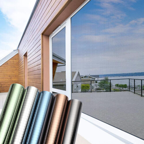 Spiegelfolie Sonnenschutzfolie Folie Fenster Sichtschutz Tönungs Sonnenschutz