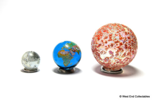 Terre /& Moon-Astronomy Soleil Lunar Solaire Eclipse Globe Bille Collection