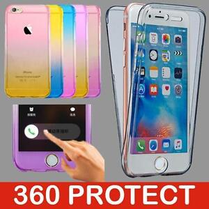 Shockproof-360-Silicone-Protective-Clear-Case-Cover-For-Apple-iPhone-7-7-Plus