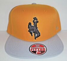 Wyoming State Cowboys NCAA Adult 7 Fitted Cap by Zephyr A133