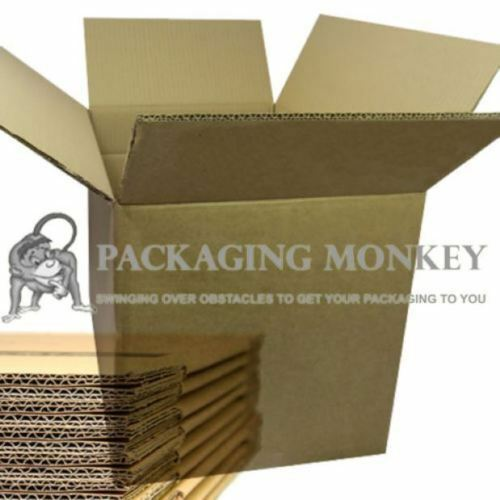 BRAND NEW DOUBLE WALL CARDBOARD MAILING REMOVAL BOXES 100/% RECYCLABLE RANGE