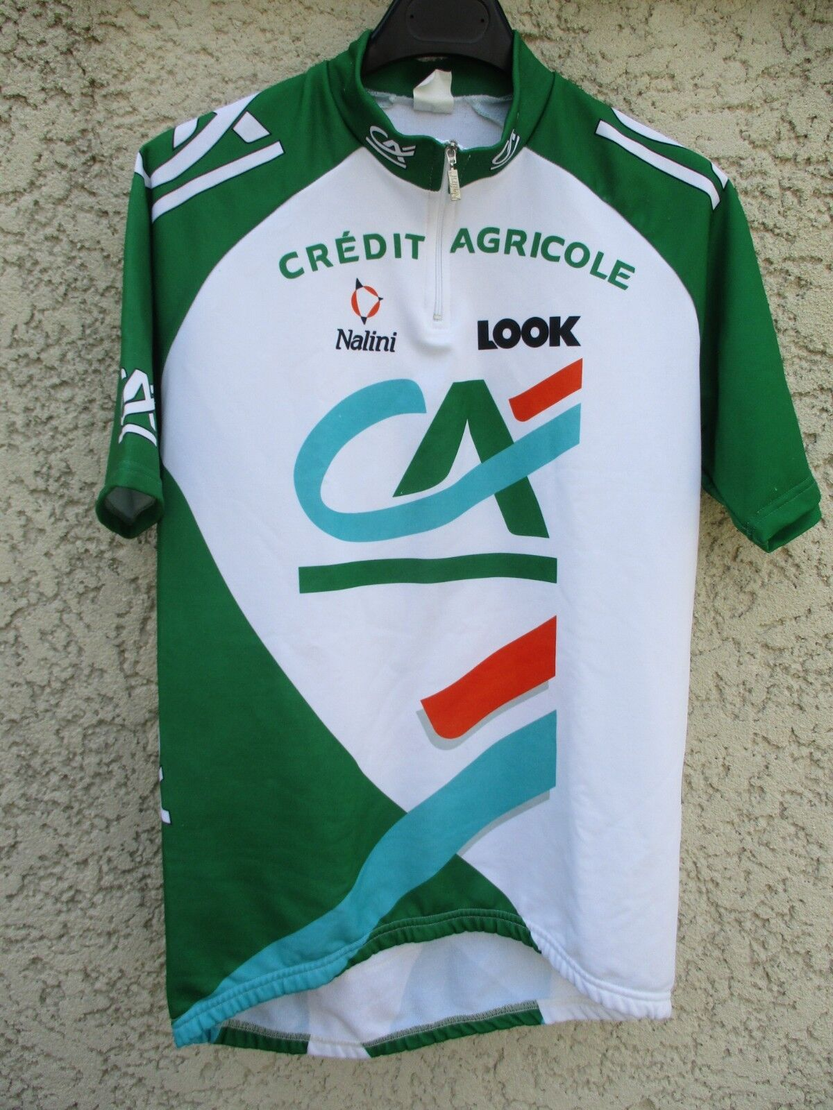 Maillot cycliste CREDIT AGRICOLE Tour de  France 1999 Nalini Look jersey shirt L  offering 100%