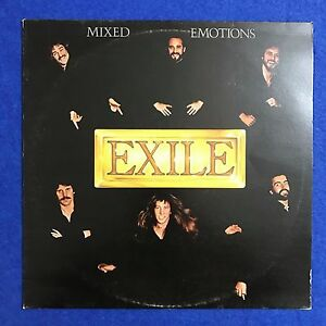 EXILE-Mixed-Emotions-1978-UK-vinyl-LP-Record-Excellent-Condition