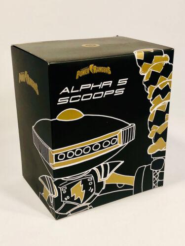 Laban/'s Power Rangers Alpha 5 pelles Collectible Figure Butin Crate DX Exclusive