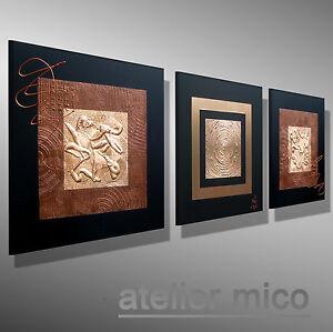 moderne-Malerei-MICO-Original-Kunst-kaufen-Leinwand-Gemaelde-kupfer-Bilder-bild