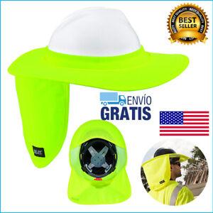 Proteccion Seguridad De Solar Para Casco De Construccion Fibra De Vidrio Cascos